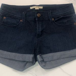 Forever 21 jean cuffed shorts